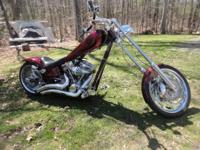 Mint 2006 Iron Horse Chopper. 112 s&s motor, 6 speed.