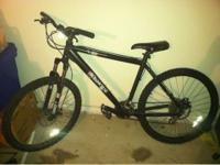 all great parts, front an rear disc brakes, - Aluminum,