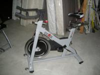 Iron man IC Summit exercise bike. Price: 250.00