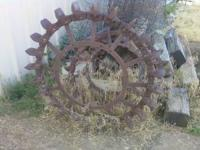 IRON TRACTOR WHEELS 100.00 CALL GARY @1- Location: