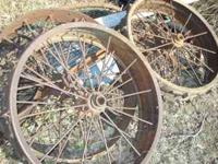 Old Iron Wheels 4 Available at $30 each Waterville