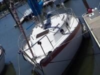 This 1979 sailboat has 2 cylinder ,diesel 15 HP