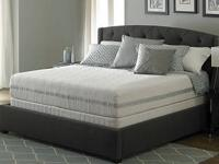 Iseries by serta features premium memory foam blended