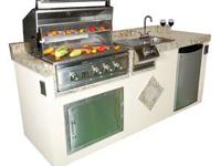 Type: Kitchen This is a complete outdoor kitchen with