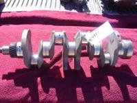 This is a used Isuzu NPR Crankshaft. It fits years
