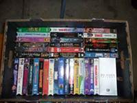 My VHS player broke, and I have quite a few movies to