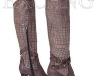 Napoleoni boots. New. Handcrafted in Italy. Made of