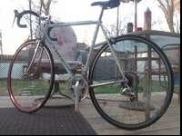 Classic Italian steel road bike. I was originally