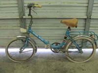 """Fresh"" BARN FIND 20"" Foldaway Bicycle Made in ITALY"