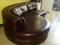 italian leather couch for sale, in excelled condition,