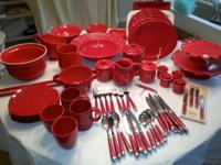 ITALIAN DINNERWARE, purchased @ Sur la Tab, most pieces