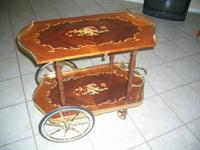 ESTATE SALE FIND! ITALIAN TEA CART! FOLKS READ