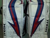 Lots of saves left in these great goalie pads!