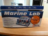 1. Red Sea Marine lab testing kit, 5 in 1 master
