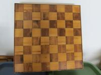 Chess/checker homemade board  $6.00 Puzzle mat $8.00 2