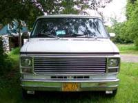 1983 chevy van400  Location: drain or