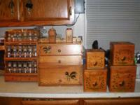 HERE ARE ANTIQUES FOR CHRISTMAS ,,,1ST PIC SPICE SET