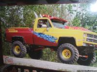 tonka muddd truck NO TITLE great paint job 350