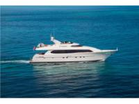 IV TRANQUILITY is a large volume 23' beam motor yacht