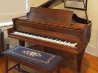 Terrific sounding, heavily built piano from 1923. Just