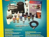 Complete Airbrush set for sale BRAND NEW NEVER