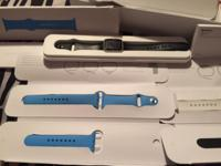 Iwatch 38mm sport original white band, I have black