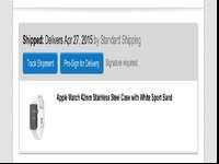 BE THE FIRST ONE TO HAVE THE NEWEST IWATCH. CONFIRMED