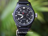 Never Worn with box and papers. The Big Pilots Watch