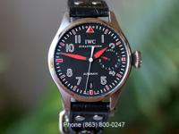 IWC Big Pilot Muhammad Ali Special Edition, 46 mm.