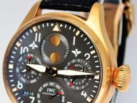 IWC Big Pilot Perpetual Calendar 18k Rose Gold Brazil