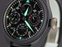 For sale is an IWC Big Pilots Watch Perpetual Calendar