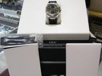 This IWC Watch is in like new condition. Case have