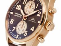 This is a IWC, Pilots Chronograph Antoine de