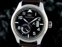 in stock, ready to ship, complete IWC Pilots Automatic