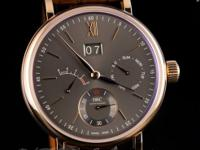 Pre-owned IWC Portofino Hand-Wound Day & Date 18k Rose