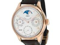 New gents IWC Portuguese Perpetual Calendar in 18K rose