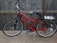 UP FOR SALE I HAVE A IZIP VIA RAPIDO ELECTRIC BICYCLE.