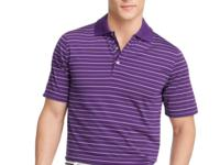 A traditionally constructed Izod polo shirt in a