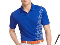 From clubhouse to golf cart, Izod's printed performance
