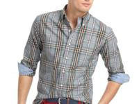 This long sleeve button-down shirt by Izod does
