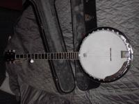 J.B. Player 550 standard banjo & case for sale. I have