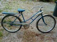 This is a vintage J.C. Higgins bicycle. I don't