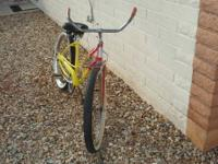 completely redone 24 inch ladies single speed ,coaster