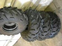 BRAND NEW 25-11-10 RIMS &TIRES GOODYEAR