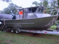 This exceptional all weather custom aluminum fishing