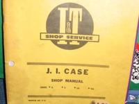 J.I.Case Shop Manual;  I & T Shop Service Manual;