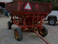 I have for sale a J/M manufacturing ----175 bu Wagon on