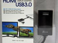 j5 Create USB 3.0 to HDMI Video Adapter  Model #JUA350
