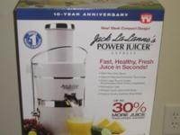 Brand name New Jack LaLanne's Power Juicer Express,