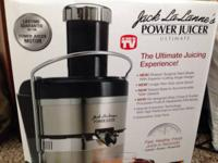 Jack LaLanne Ultimate stainless steel juicer in the